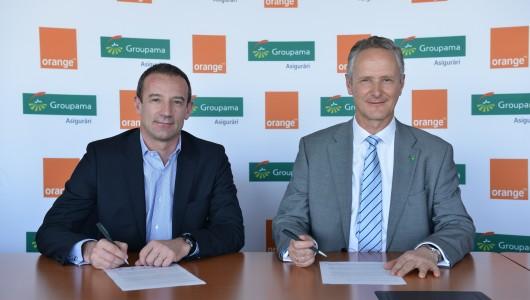 Parteneriat Groupama Asigurari si Orange