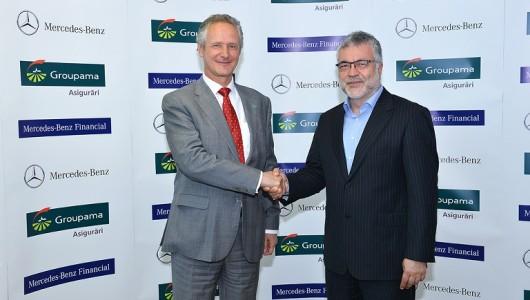 Parteneriat Groupama Asigurari si Mercedes-Benz