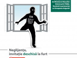 Groupama Asigurari Comunicat de presa - Neglijenta, invitatie deschisa la furt