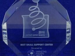 Groupama Asigurari Premiul best small support center